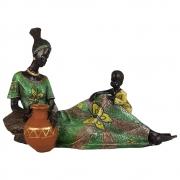 Estátua Africana Deitada Grande