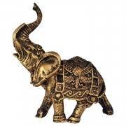 Estátua Elefante Tromba ao alto Indiano pequeno