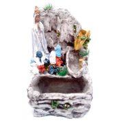 Fonte de água Nossa Senhora de Fátima Cascata 220V