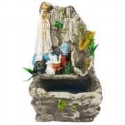 Fonte de água Nossa Senhora de Fátima Cascata