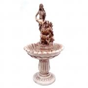 Fonte pedestal Chafariz mulher com jarro jardim grande