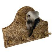 Porta chaves ou roupas Boi nelore grande decoração.