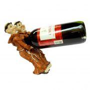 Porta vinho Padre Frade franciscanos Equilibristas.