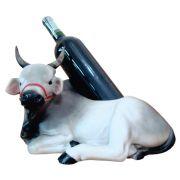 Porta vinho Boi Gado Nelore Grande.