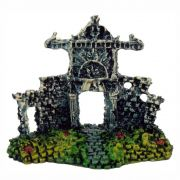 Portal em ruínas enfeite para aquário decoração.