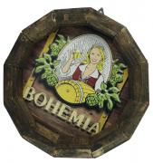 Tampa de Barril em madeira Personalizada Cerveja Bohemia