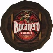 Tampa de Barril em madeira Personalizada Cerveja Bucanero