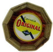 Tampa de Barril em madeira Personalizada Cerveja Original