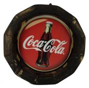 Tampa de Barril em madeira Personalizada Coca Cola