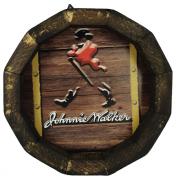 Tampa de Barril em madeira Personalizada Wisky Johnnie Walker