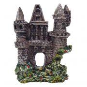Torre Castelo enfeite aquário.