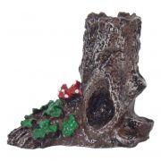 Tronco Pequeno árvore enfeite para aquário decoração.