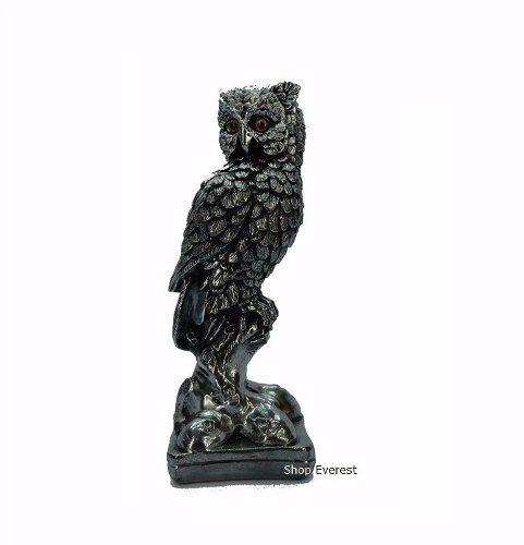 Estatueta Coruja Decorativa Sabedoria Simbolo.