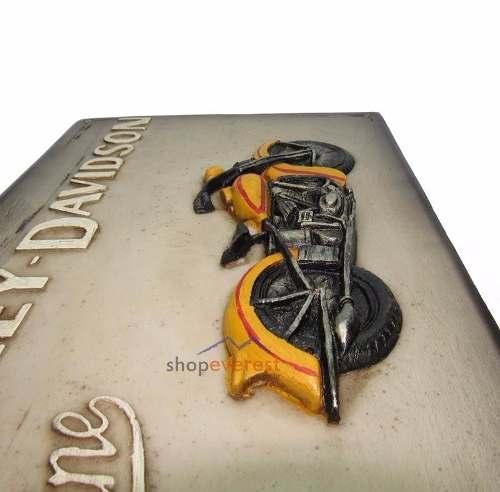 Quadro ( Placa ) Harley Davidson - Estilo Vintage