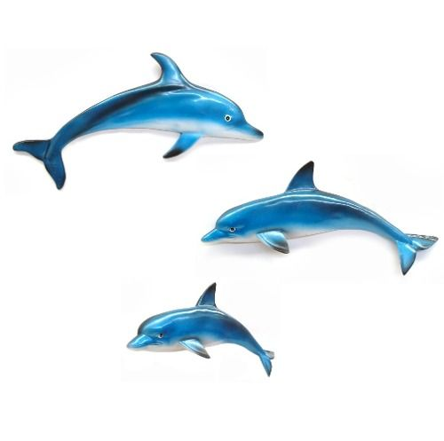 Família Golfinho De Parede Decoração P,M,G