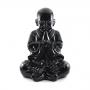 Buda Chinês grande Preto Intenso