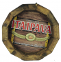 Tampa de Barril em madeira Personalizada Cerveja Itaipava