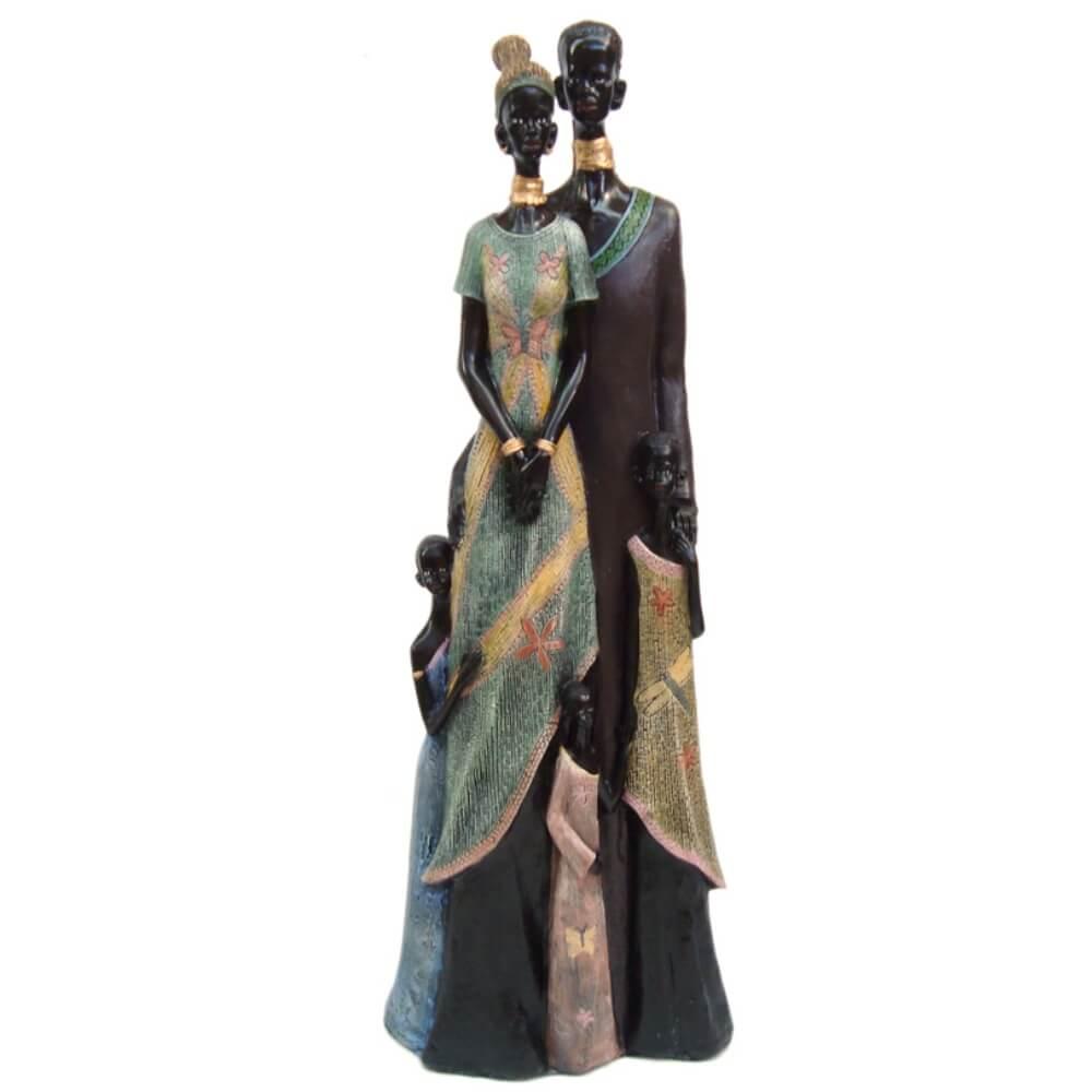 Família Africana Casal Gigante. - Shop Everest - Casa e Decoração - A maior  loja de objetos decorativos do ... 00d9999d966