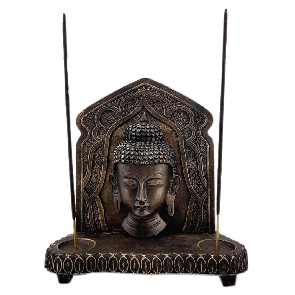 Buda Aparador Painel com incensário Estátua decoração.