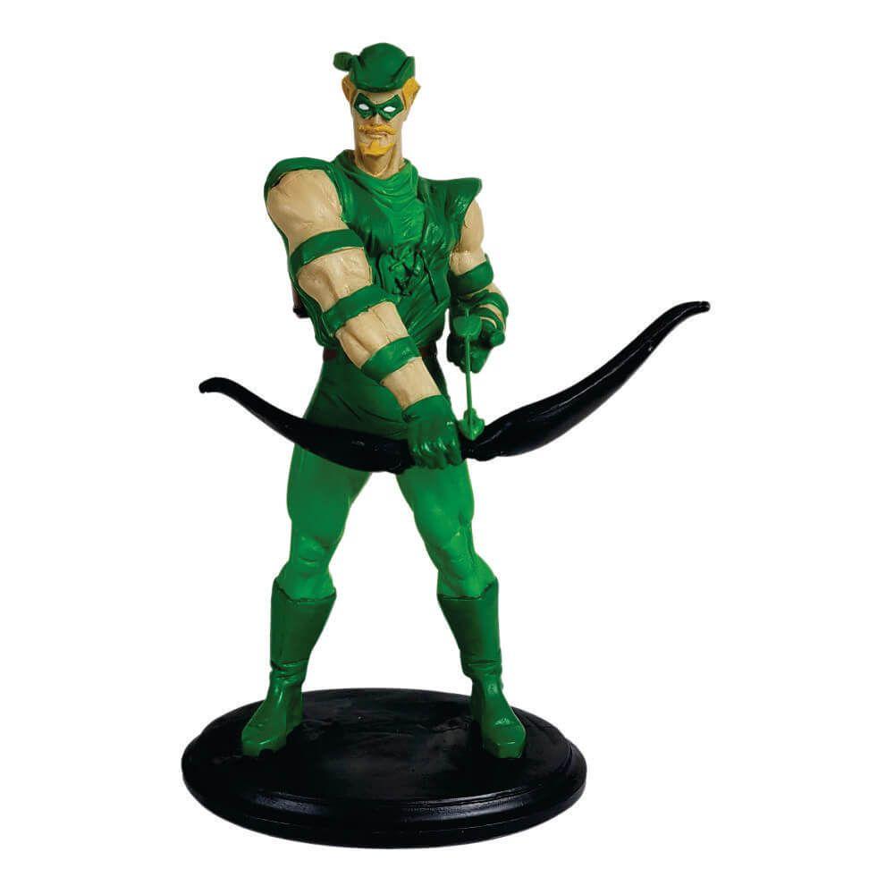 Arqueiro Verde Boneco Estátua resina decoração