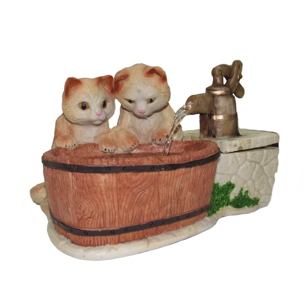Bebedouro fonte de água Pet Filhote Filhotinhos