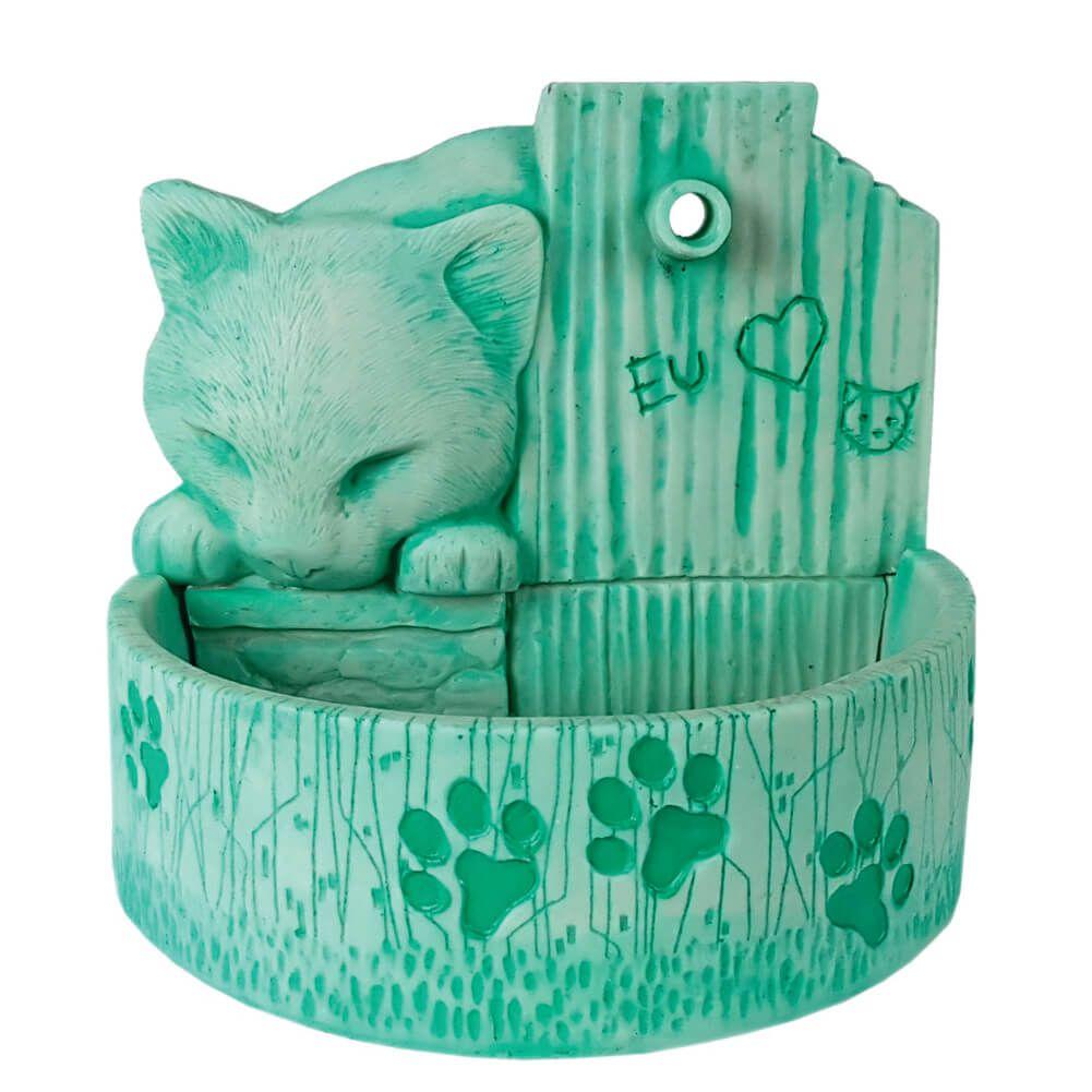 Bebedouro para gatos automática Verde 110 V ou 220 V.