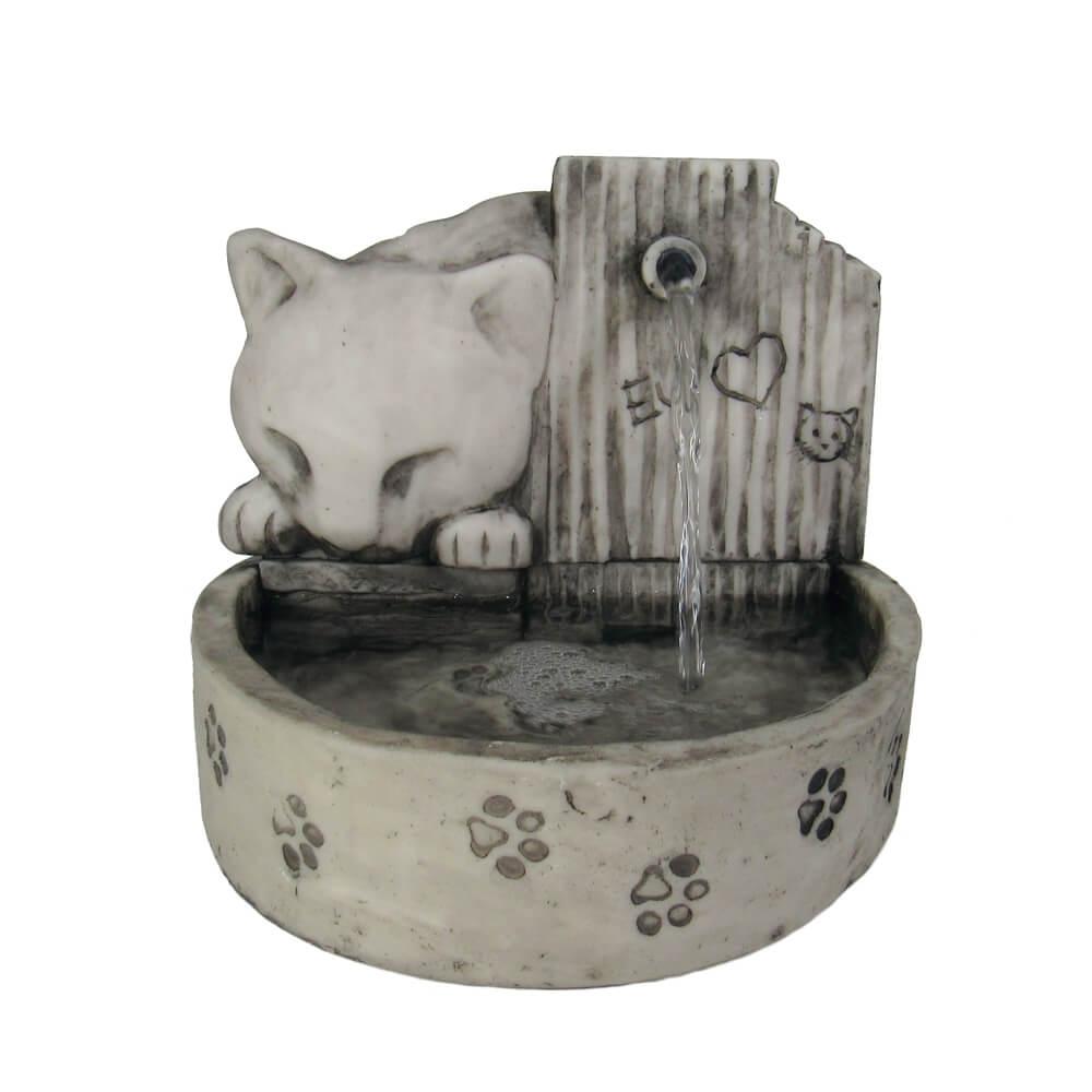 Bebedouro fonte para gatos prime Cinza 110 V ou 220 V.