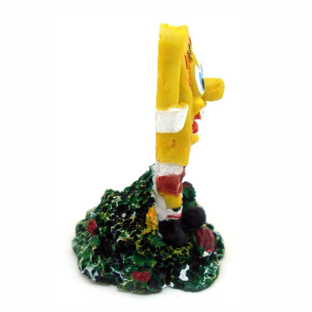 Bob Esponja Enfeite Decoração Para Aquários Mini