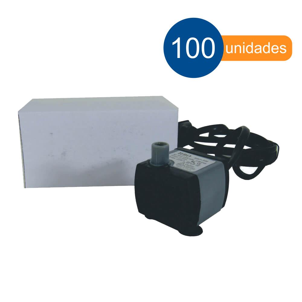 Bomba para aquário e fontes de água submersa 220 l/h Hbo 300 - 100 unidades