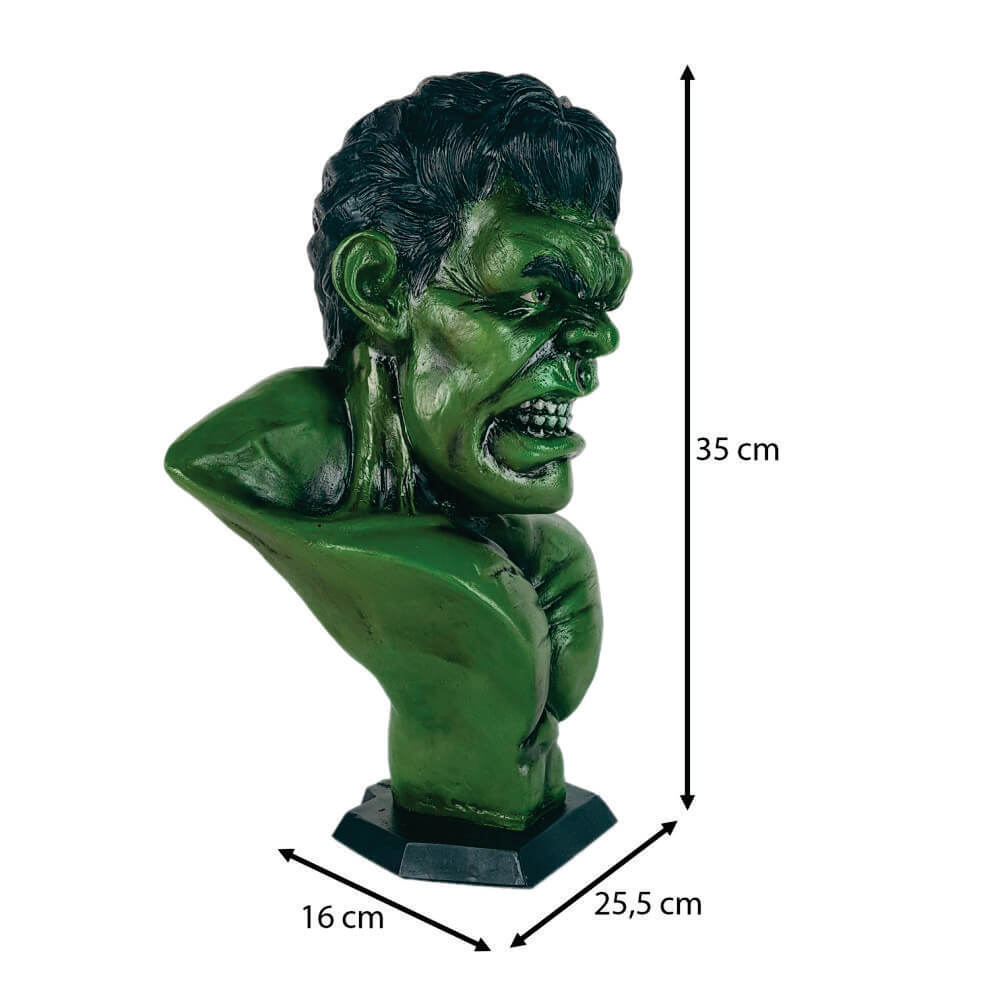 Boneco Busto Hulk