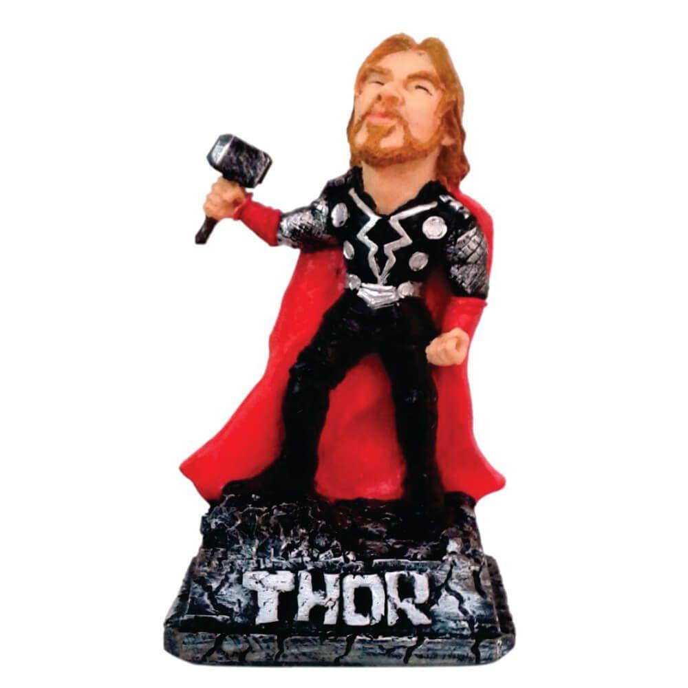 Boneco caricatura Thor