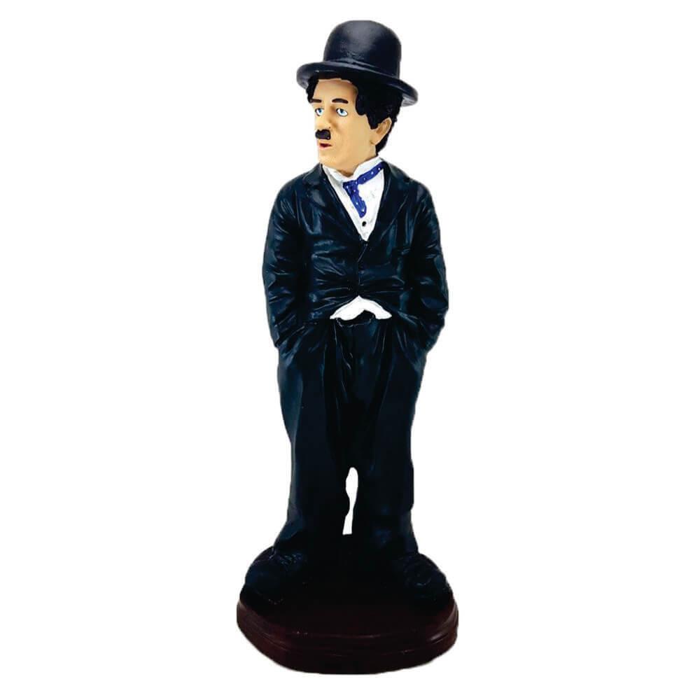 Charlie Chaplin Estátua Decoração Médio.