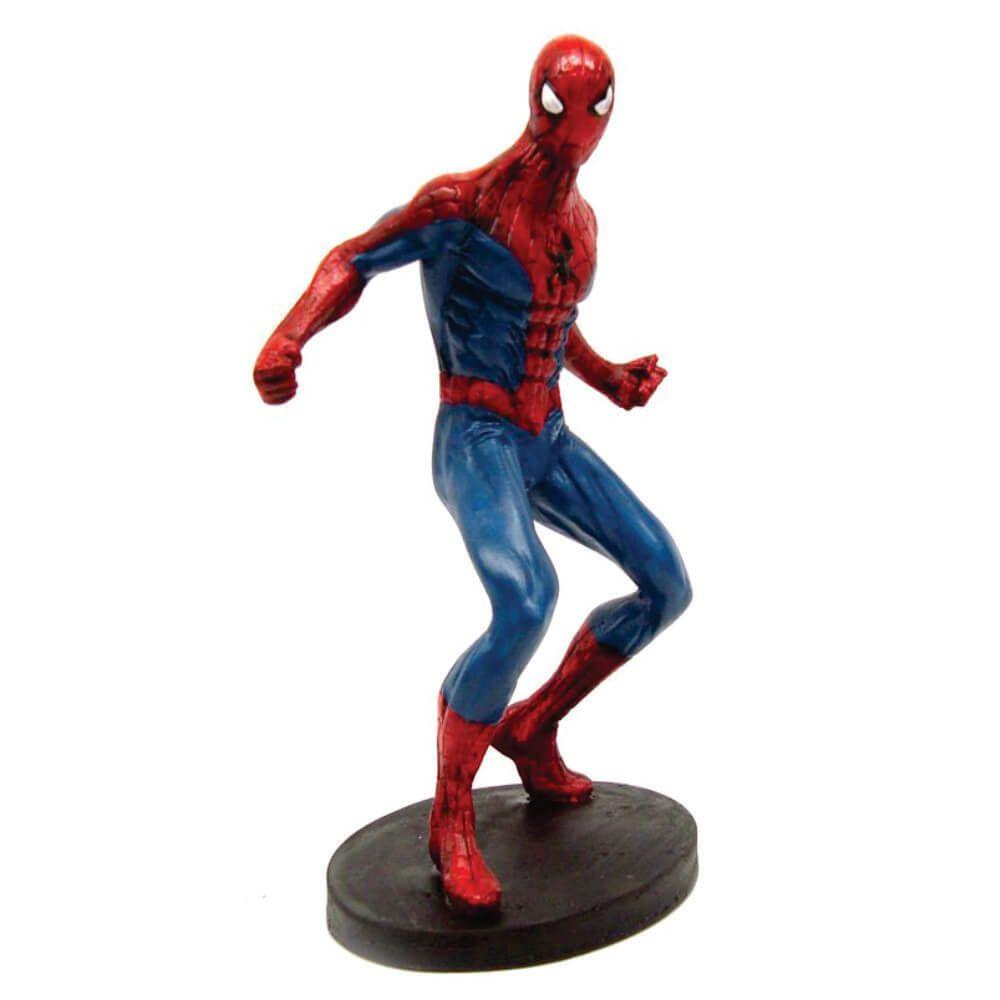 Boneco Homem Aranha Estátua resina decoração.