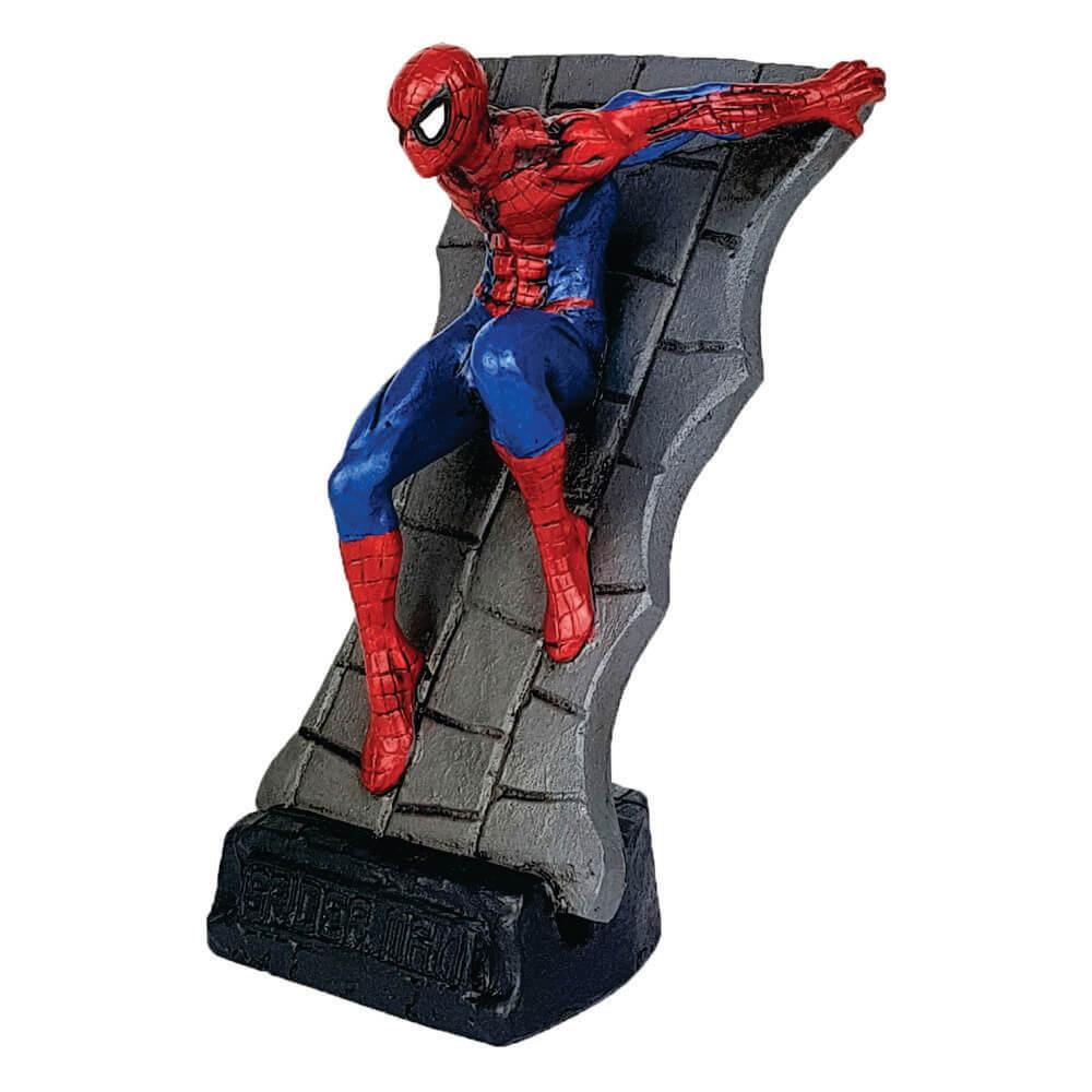 Homem Aranha parede estátua resina decoração.