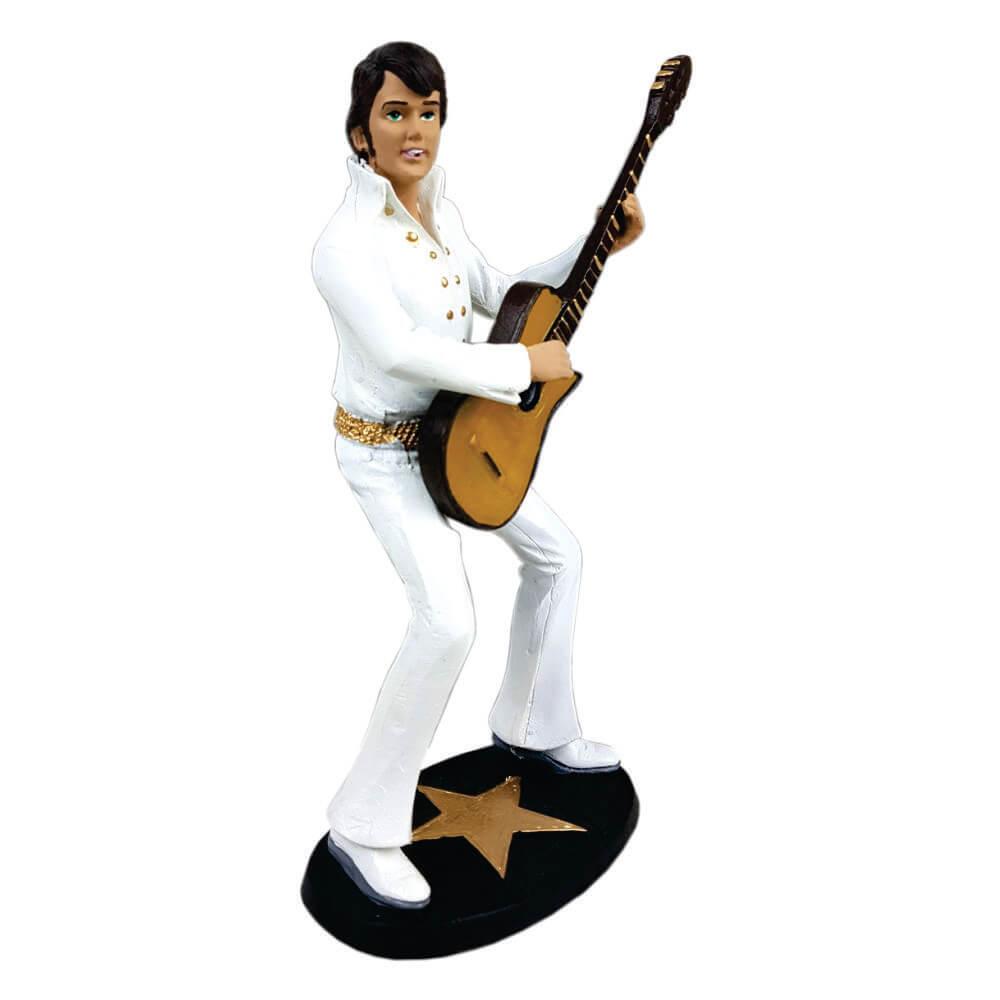 Estátua Elvis Presley decorativo.