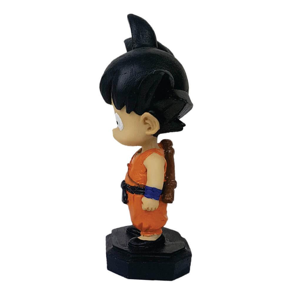 Boneco Goku Criança estátua resina decoração.