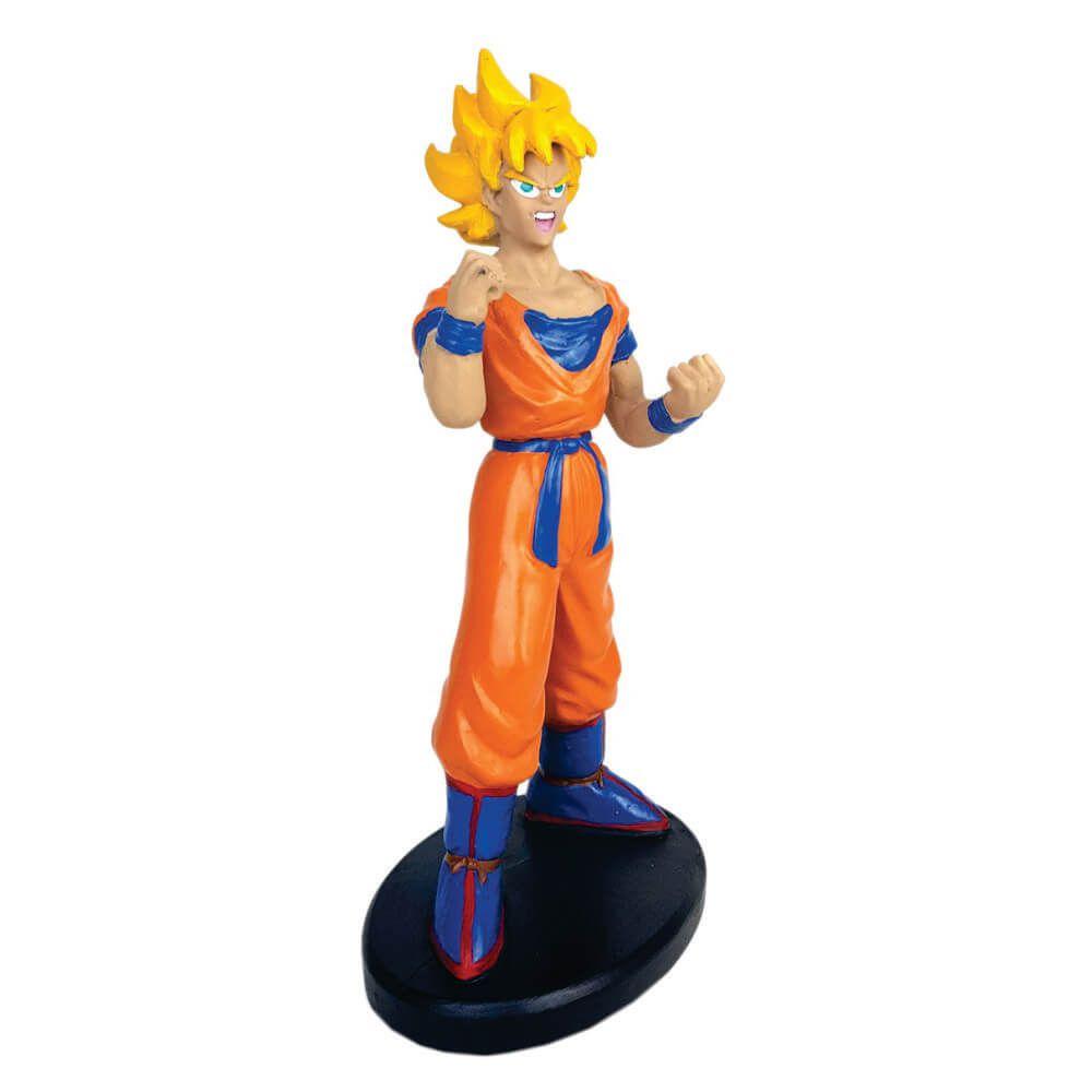 Boneco Goku Super Sayadin fase 2 Dragon Ball z