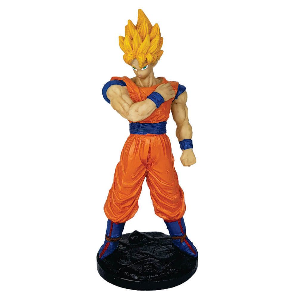 Boneco Goku Super Sayadin  Dragon Ball z