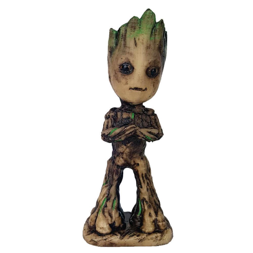Groot Criança Cactos ou Suculentas ou porta objetos.