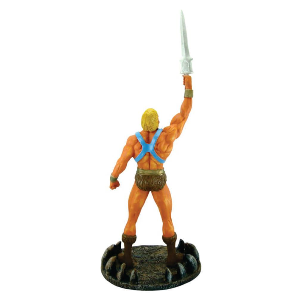 Boneco He man com espada resina decoração