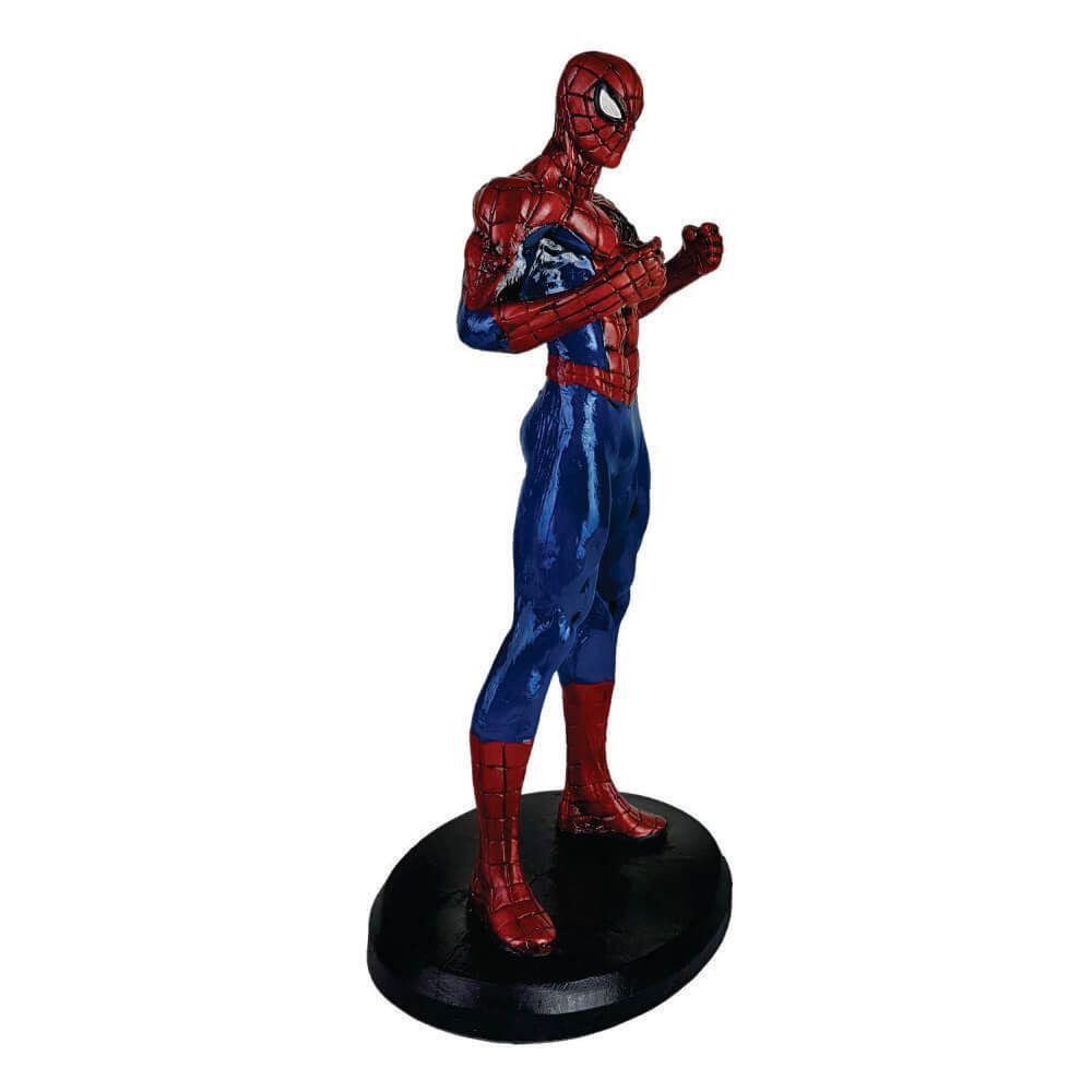 Boneco Homem aranha resina estátua decoração
