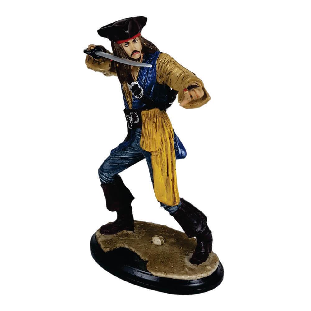 Boneco Piratas do Caribe - Capitão Jack Sparrow