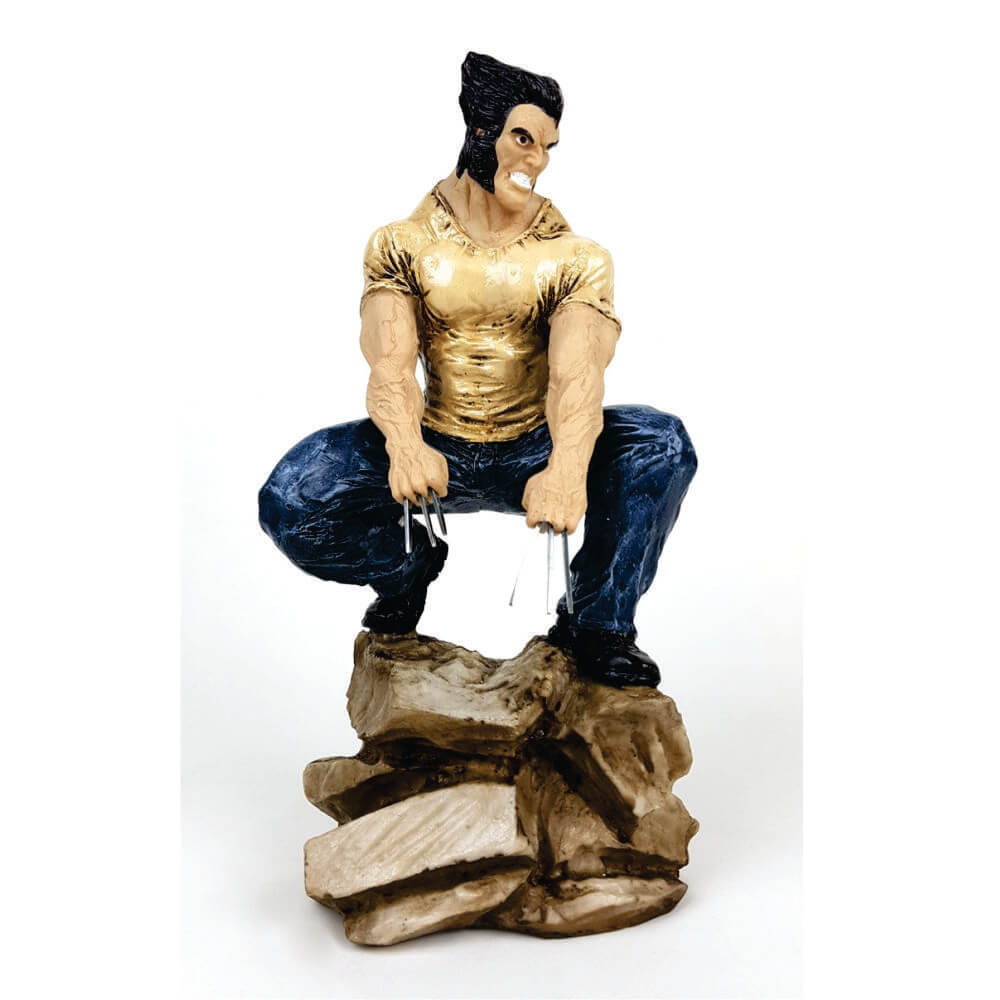 Boneco Wolverine aguachado