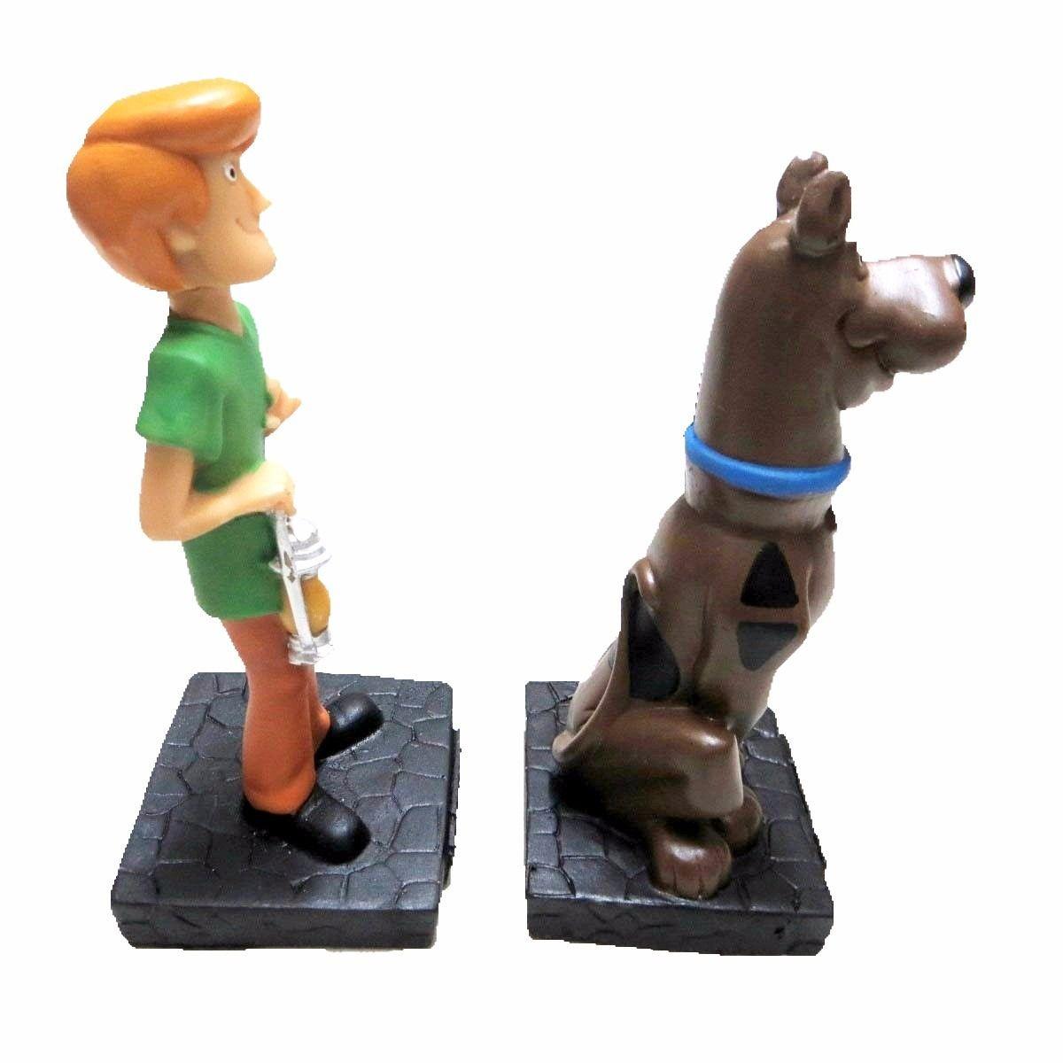 Bonecos Salsicha E Scooby-doo Em Resina