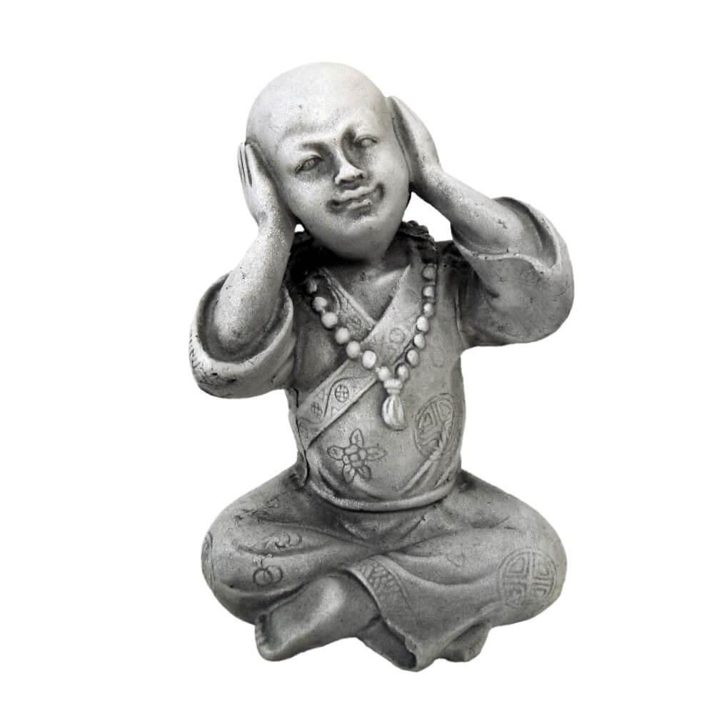 Buda Chinês Sábio Surdo Estátua decoração.