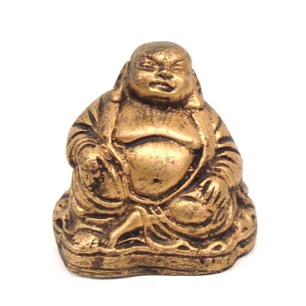 Buda Chinês Pequeno estátua decoração.