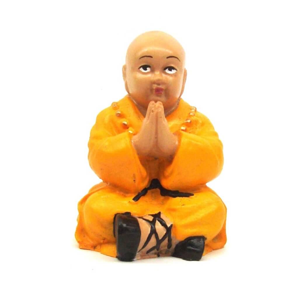 Buda Chinês Prece Rezando Estátua