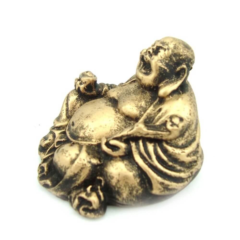 Buda da alegria chinês Mini estátua decoração.