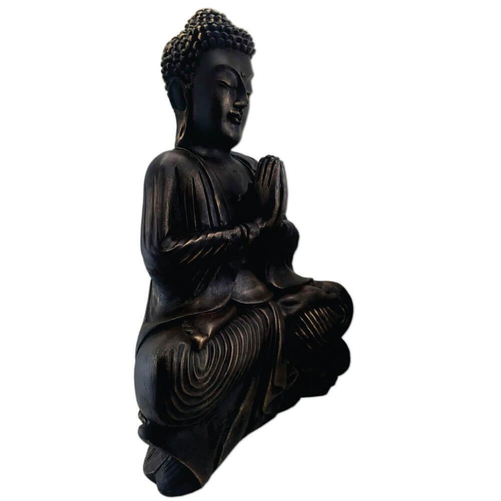 Buda Hindu meditação Estátua decoração Grande.