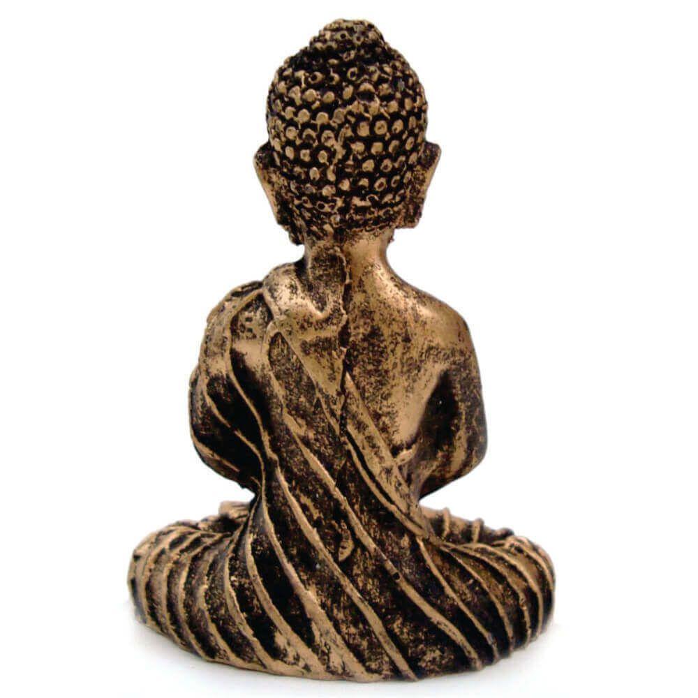 Buda Hindu Mini meditação estátua decoração.